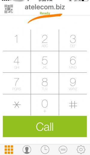 iOS Zoiper Крок5