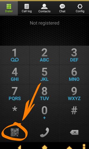 Android Zoiper Шаг1