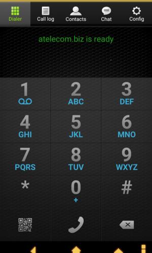 Android Zoiper Крок3