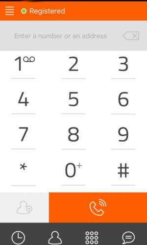 iOS Linphone Step3